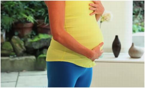 Tehotnosť-leto-cvicenie-ilustr